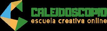 logotipo Caleidoscopio Escuela Creativa Online