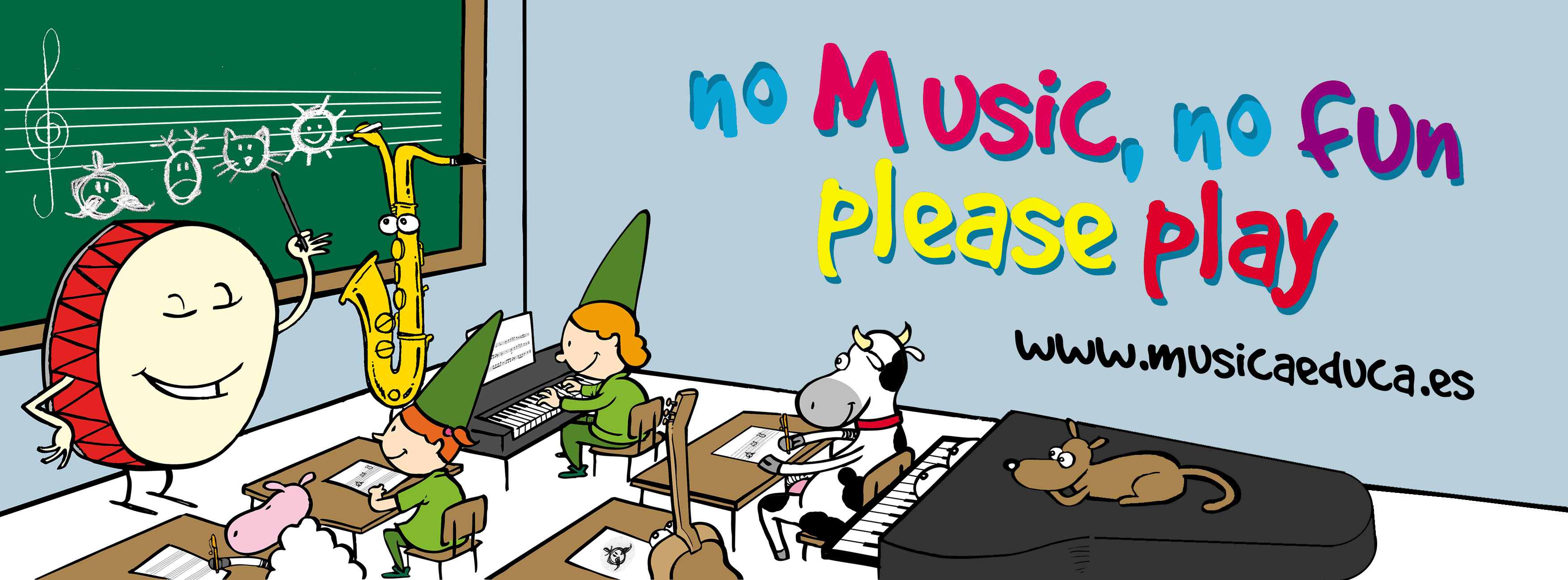no music no fun