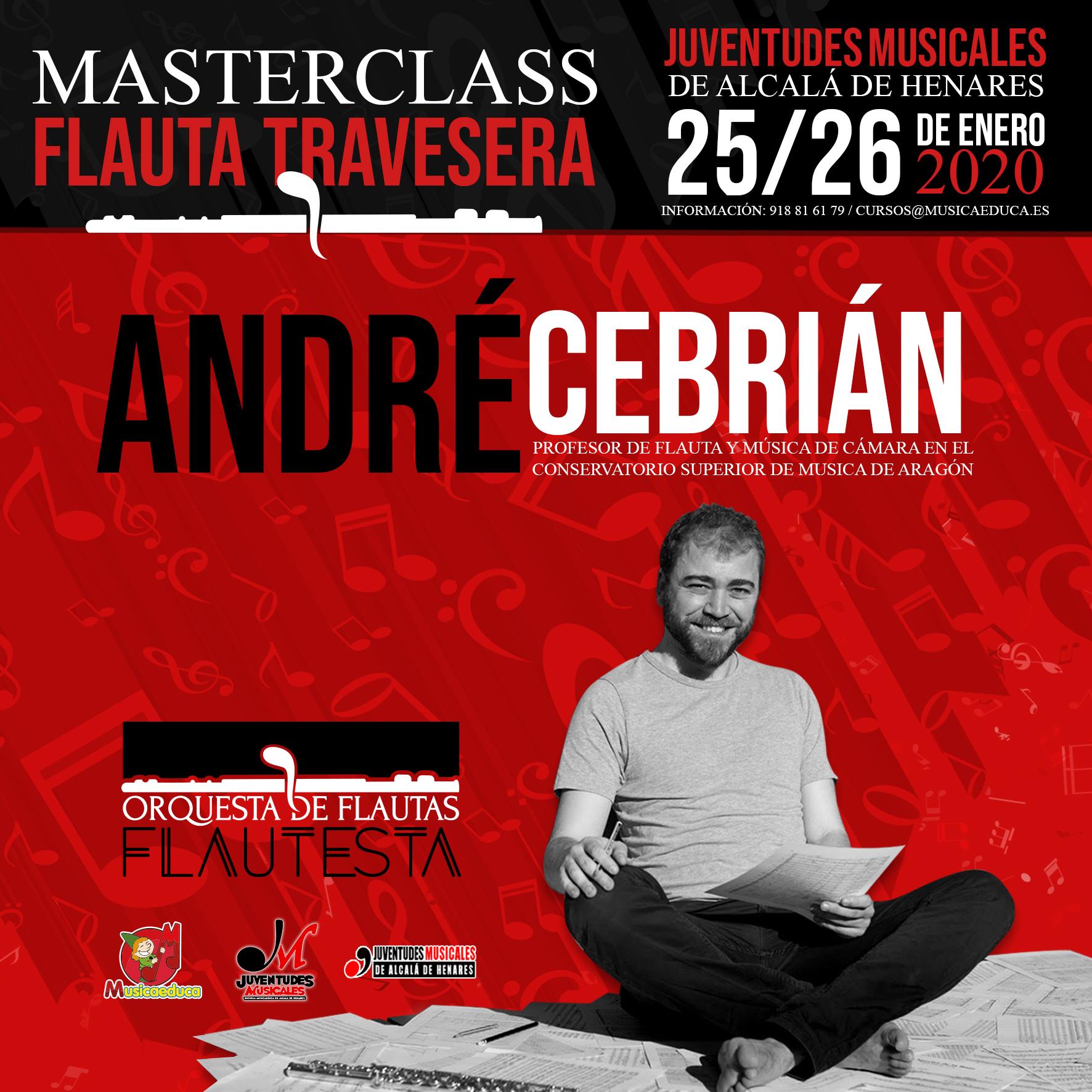 masterclass andre cebrian