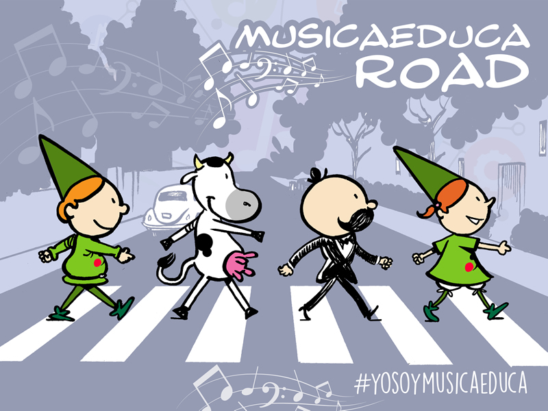 musicaeduca road Abbey Road